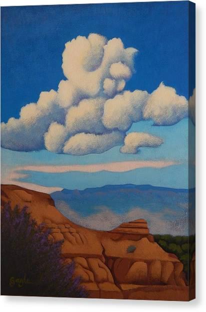 Sandia Clouds Canvas Print