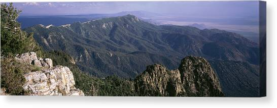 Nm Canvas Print - Sandia Mountains, Albuquerque, New by Panoramic Images