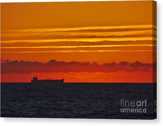 Sandown Sunrise Canvas Print