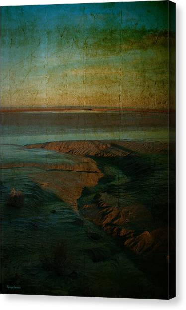 Sands At Mount St Michael Canvas Print