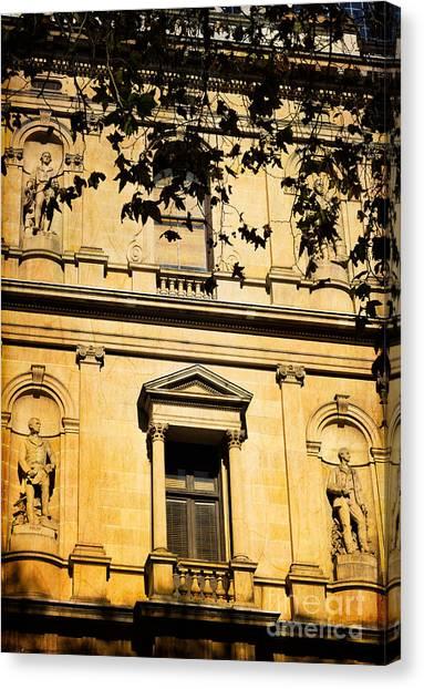 Sandstone Architecture - Characteristic Of Sydney Australia Canvas Print
