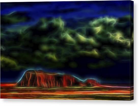 Sandstone Monolith 1 Canvas Print