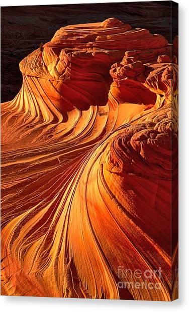 Sandstone Silhouette Canvas Print