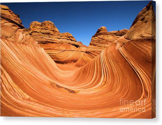 Sandstone Surf Canvas Print