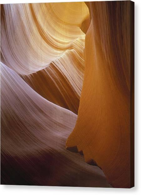 Sandstone Vortex Canvas Print