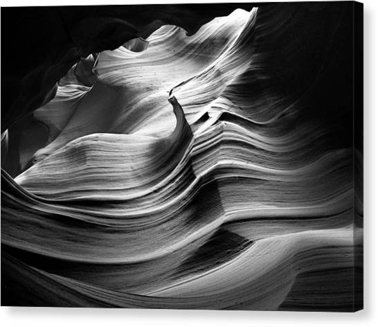 Sandstone Wave Canvas Print