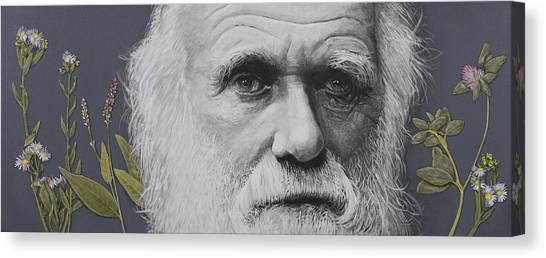 Creation Canvas Print - Sandwalk Wood- Charles Darwin.  by Simon Kregar