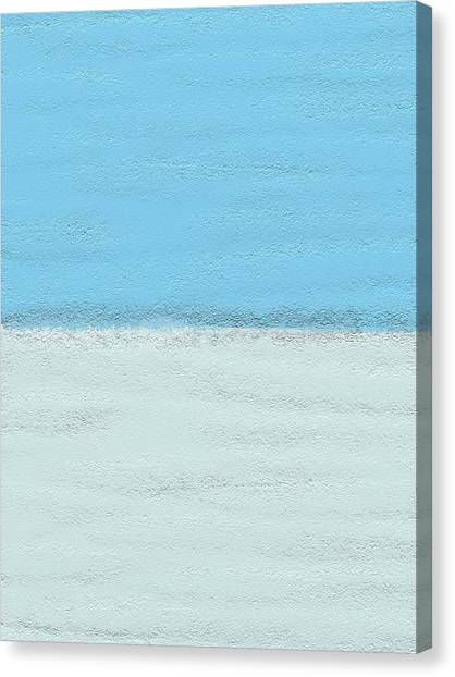Surf Lifestyle Canvas Print - Sandy Beach by Len YewHeng