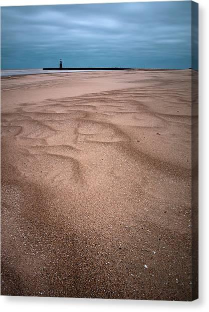 Sandy Chicago Beach Canvas Print