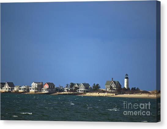 Sandy Neck Light Canvas Print
