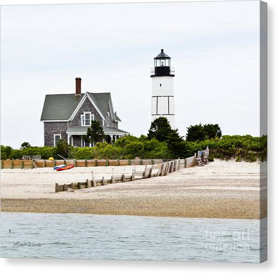 Sandy Neck Lighthouse Cape Cod Canvas Print