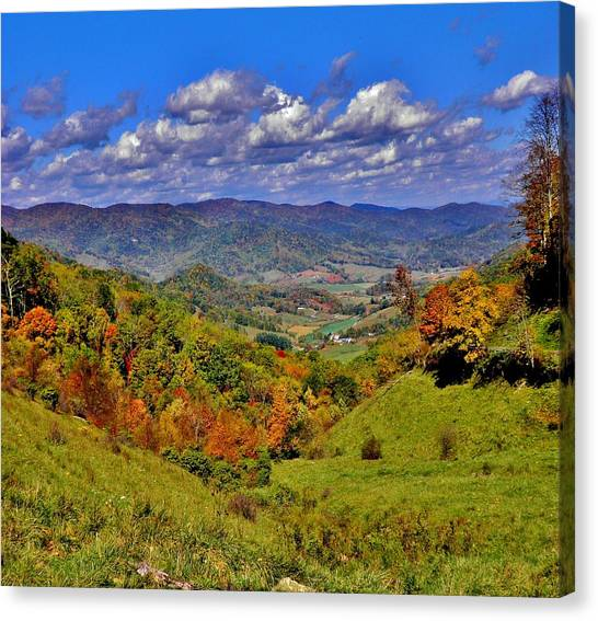 Sandymush Valley Canvas Print