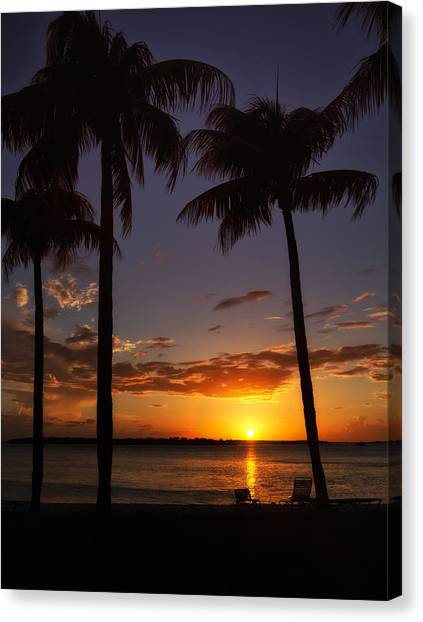 Sanibel Island Sunset Canvas Print