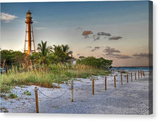 Sanibel Lighthouse Canvas Print