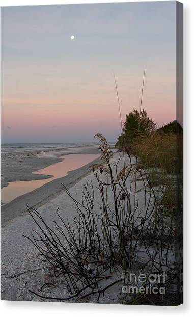Sanibel Moonrise Canvas Print