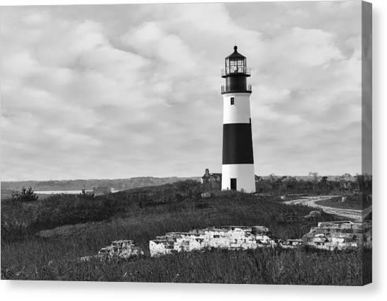 Sankaty Head Lighthouse Nantucket Cape Cod Canvas Print