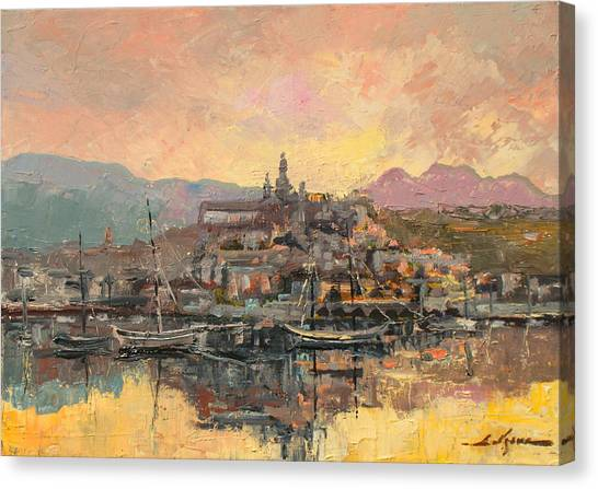 Sanremo  Canvas Print