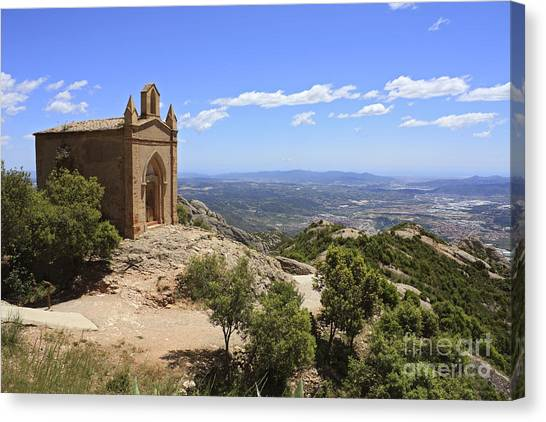 Sant Joan Chapel Spain Canvas Print