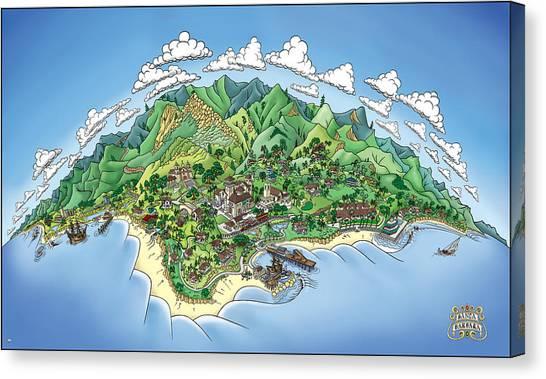 Canvas Print - Santa Barbara-21nov by Bill Proctor