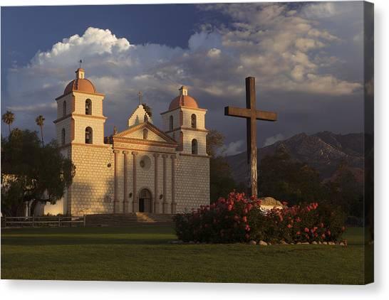 Santa Barbara Mission Mg_6324 Canvas Print