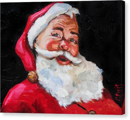 Santa Claus Canvas Print by Carole Foret