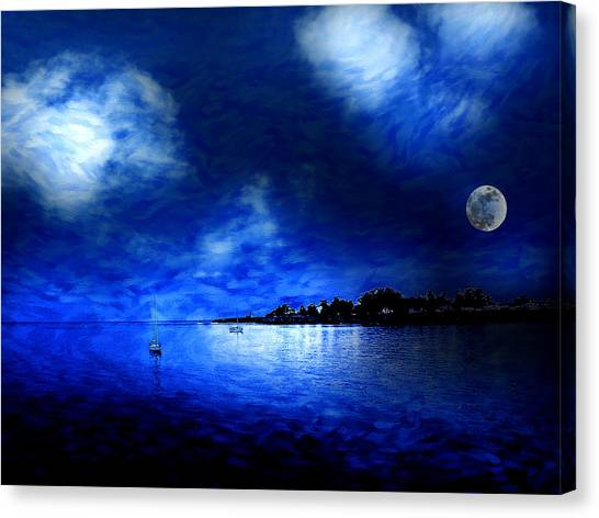 Santa Cruz Evening 2 Canvas Print by Cary Shapiro