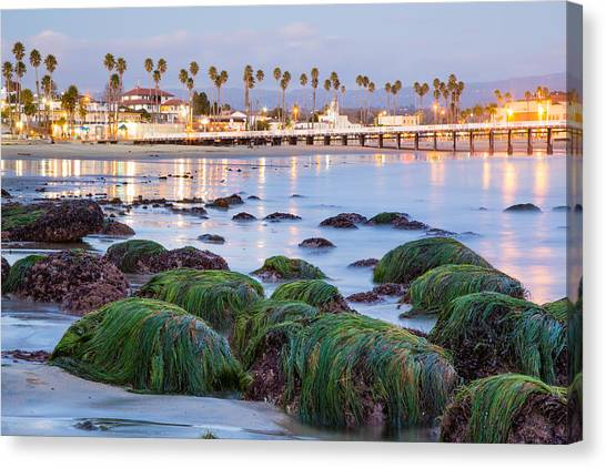 Santa Cruz Twilight Canvas Print