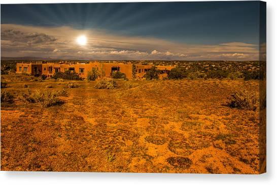 Santa Fe Landscape Canvas Print