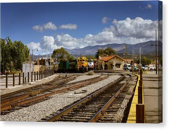 Santa Fe Rail Road Canvas Print