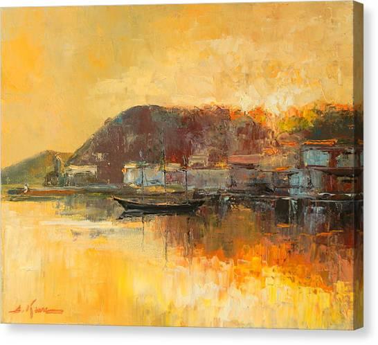 Santa Margherita Canvas Print
