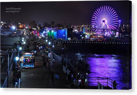 Santa Monica Pier 5 Canvas Print