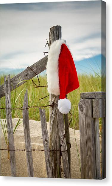 Santa's Downtime Canvas Print