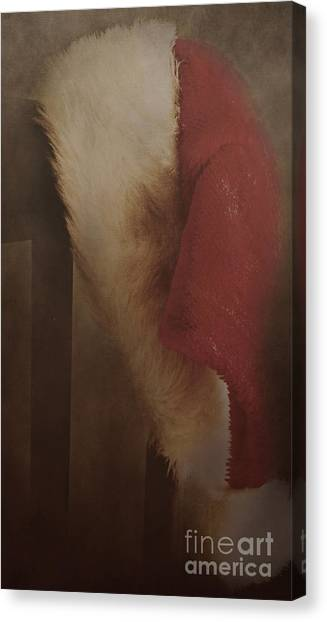 Late Night Visitor Canvas Print