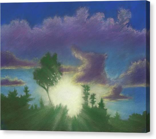 Santee Sunset 02 Canvas Print