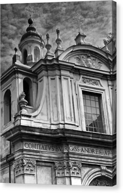 Santi Andrea E Claudio Dei Borgognoni Canvas Print