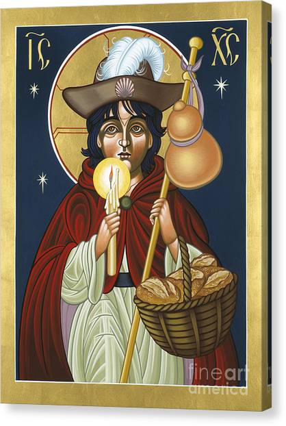 Santo Nino De Atocha 133 Canvas Print