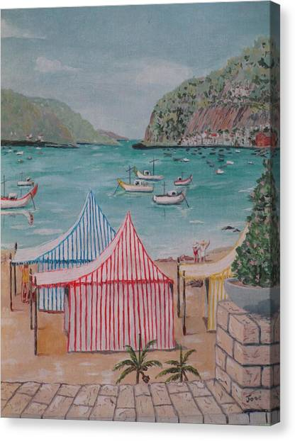 Sao Martinho Do Porto Canvas Print