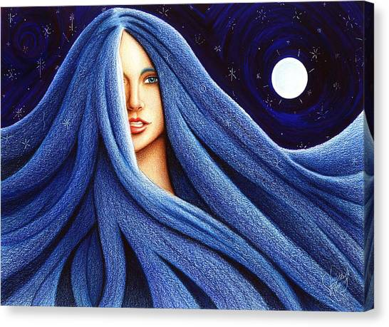 Sapphyre Canvas Print