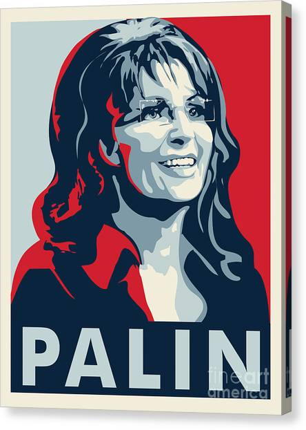 Sarah Palin Canvas Print - Sarah Palin by John Lehman