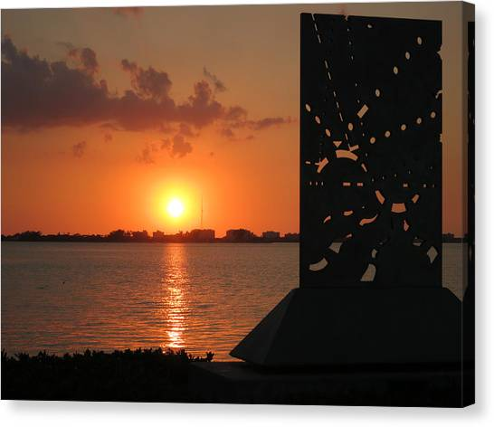 Sarasota Bay Sunset Canvas Print