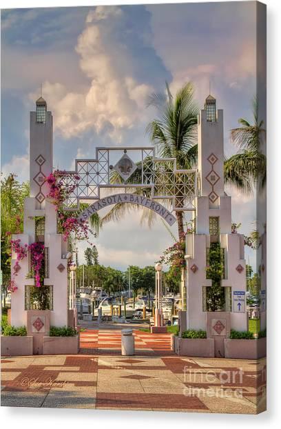 Sarasota Bayside Canvas Print