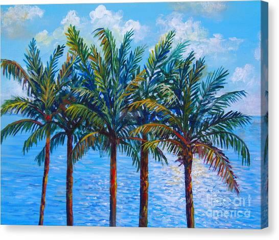 Sarasota Palms Canvas Print