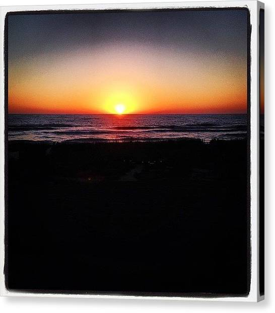 Canvas Print - Sarasota Sunset by Rosie Odonnell