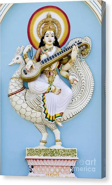 Saraswati Canvas Print by Tim Gainey