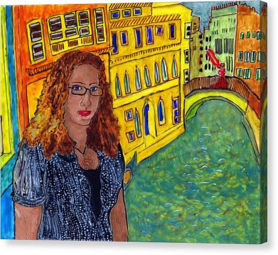 Sasha And Greta Canvas Print