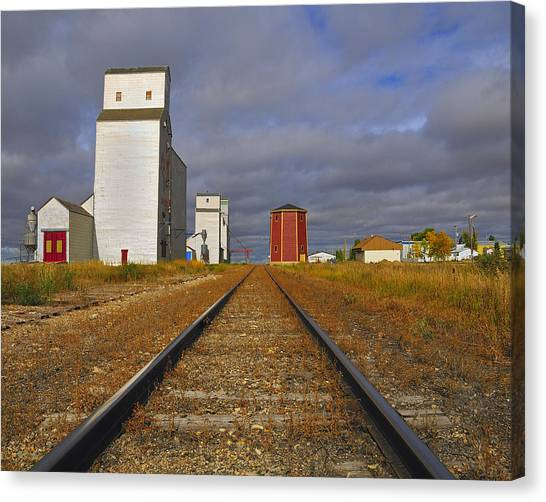 Saskatchewan Prairies Canvas Print