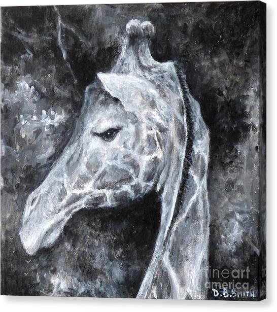 Sassy Giraffe Canvas Print