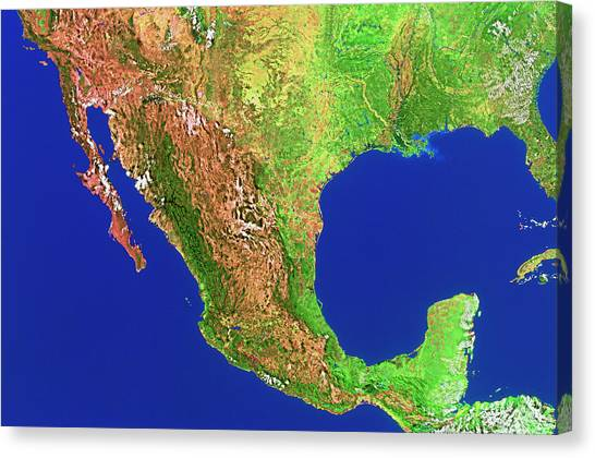 Sierra Madre Mountains On World Map.Sierra Madre Mountains Canvas Prints Fine Art America