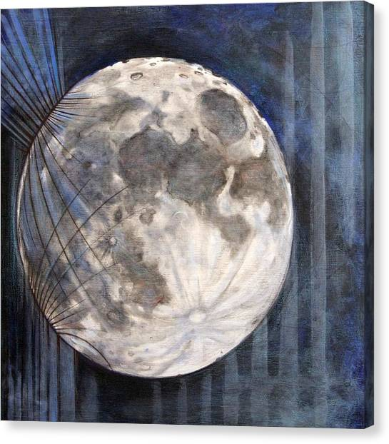 Satellite  Canvas Print by Stacey Sherman