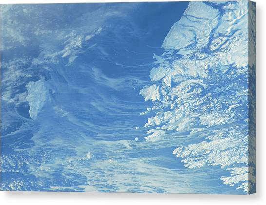 Newfoundland And Labrador Canvas Print - Satellite View Of Newfoundland by Panoramic Images